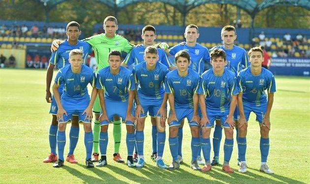Украина U-17, фото Павла Кубанова, УАФ