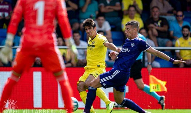 Вильярреал - Вальядолид 1:0, фото ФК Вильярреал