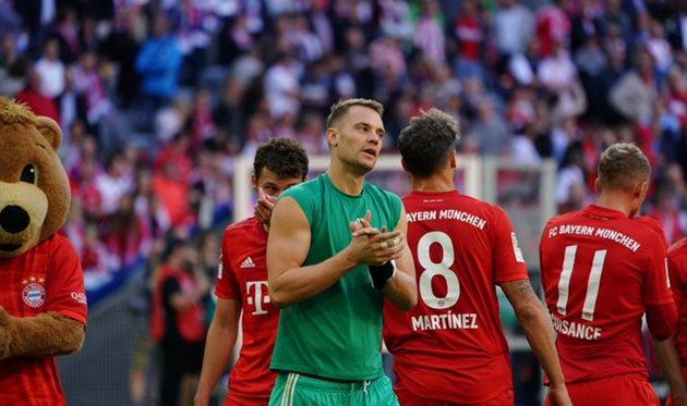 Футбол чемпионат германии байерн- кельн
