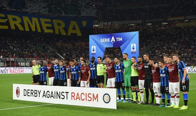 Милан - Интер 0:2, Getty Images