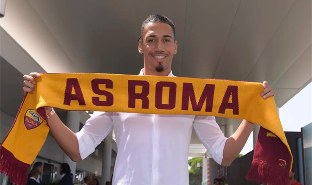 Кріс Смоллінг, AS Roma