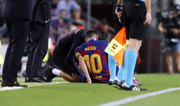 Travma Messi Okazalas Ne Sereznoj Football Ua