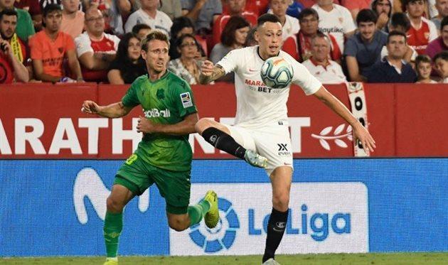 Севилья - Реал Сосьедад, twitter.com/SevillaFC