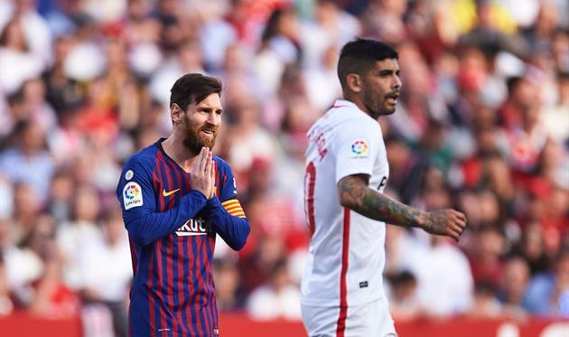 Канал: Барселона Севилья 4-0 Видеообзор матча ЛаЛиги 06.10.2019