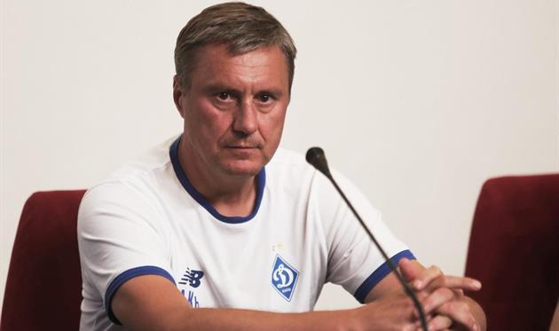 Александр Хацкевич, фото ФК Динамо