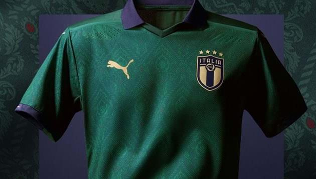 Зеленая форма сборной Италии, figc.it