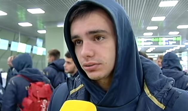 Николай Шапаренко, скриншот телеканала Футбол