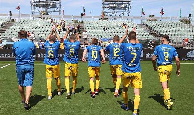 Украинцы уступили венграм, фото Федерации мини-футбола Украины