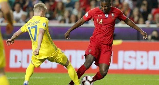Зинченко в первом матче с Португалией