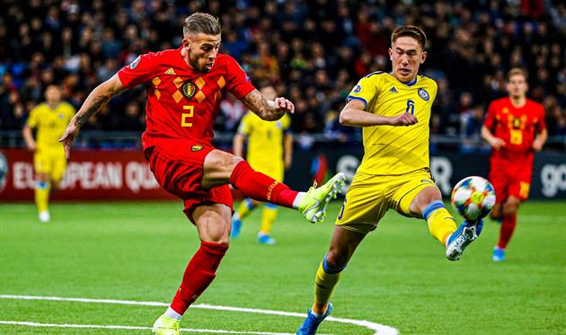 Казахстан - Бельгия, twitter.com/BelRedDevils