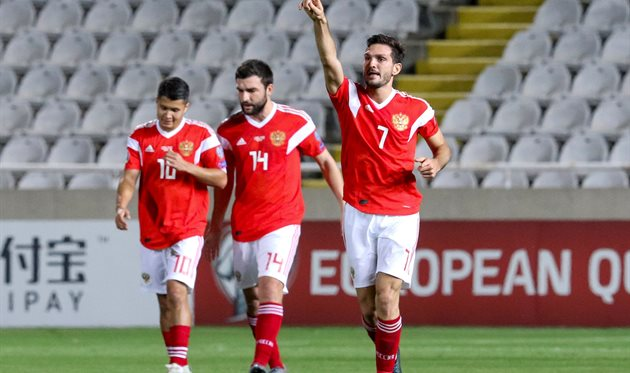 Кипр - Россия, twitter.com/UEFAEURO