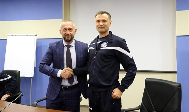 Мисюра и Маркевич, фото: ФК Черноморец