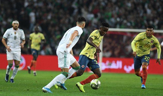 Алжир - Колумбия, twitter.com/FCFSeleccionCol