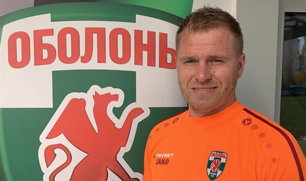 Евгений Боровик, фото ФК Оболонь-Бровар