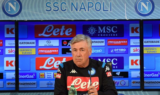 Карло Анчелотти, фото ФК Наполи