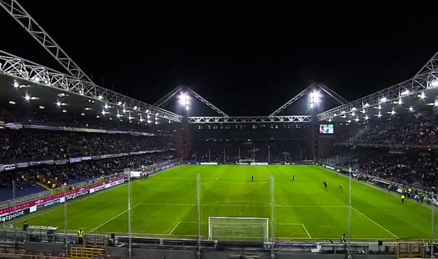 Стадион Луиджи Феррарис готов к матчу