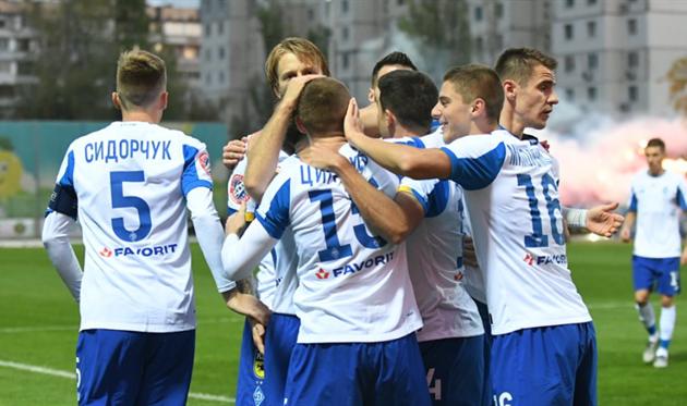 Игроки Динамо, фото: пресс-службы Динамо