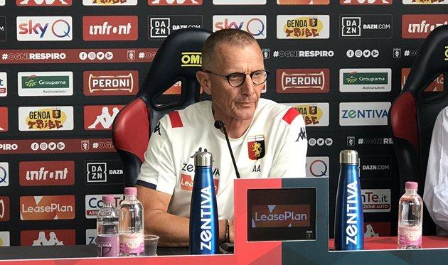 Аурелио Андреаццоли, фото ФК Дженоа