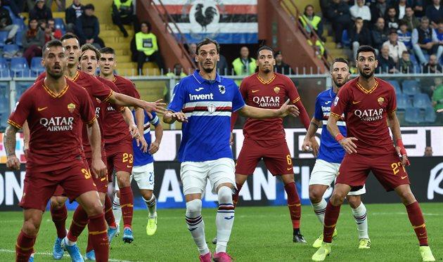 Рома - Сампдория, Getty Images