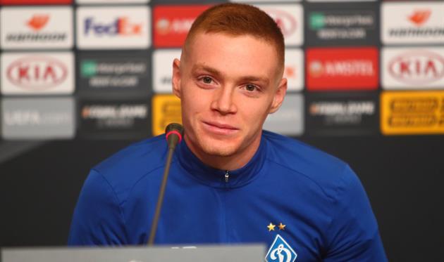 Виктор Цыганков, фото ФК Динамо
