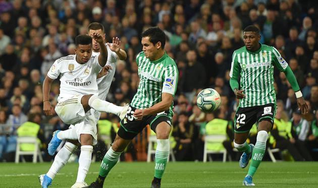Бетис в матче с Реалом, Getty Images