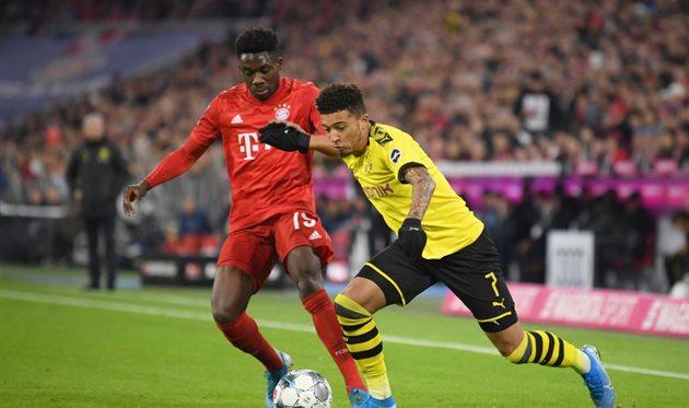Бавария боруссия дортмунд обзор матча