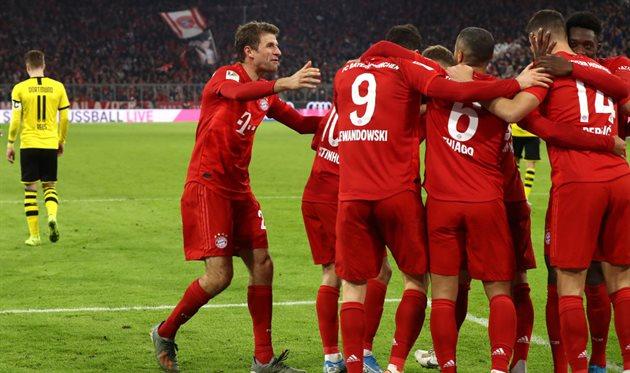 Бавария 11 боруссия дортмунд