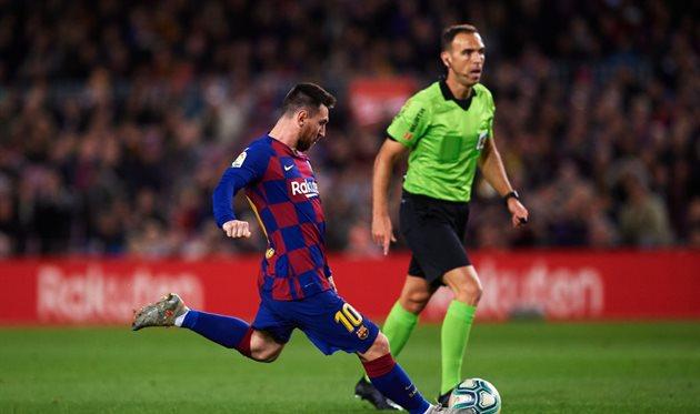 Барселона подала апелляцию на желтую карточку Месси