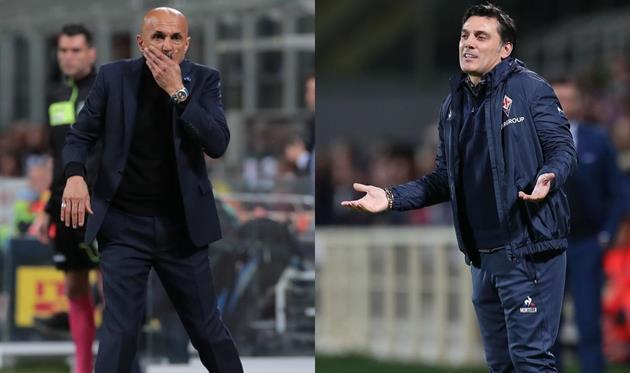 Лучано Спаллетти и Винченцо Монтелла, Getty Images