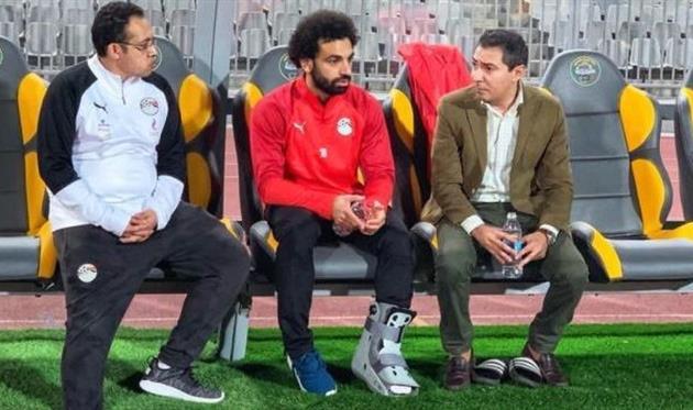 Мохаммед Салах, фото Египетской федерации футбола