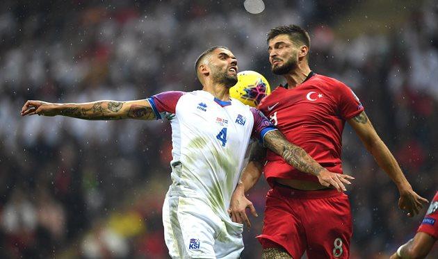 Турция - Исландия, фото УЕФА