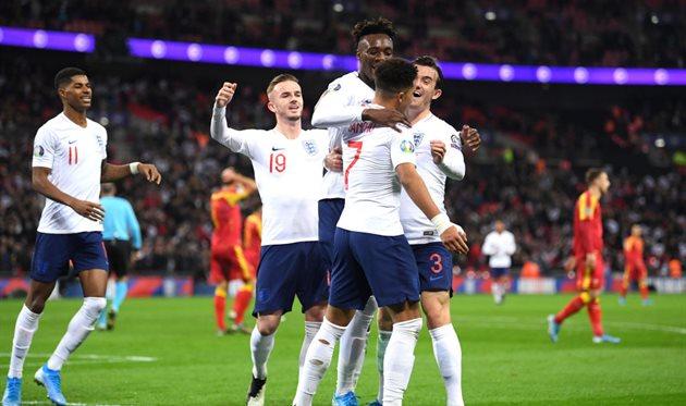 Сборная Англии - участник Евро-2020, Getty Images