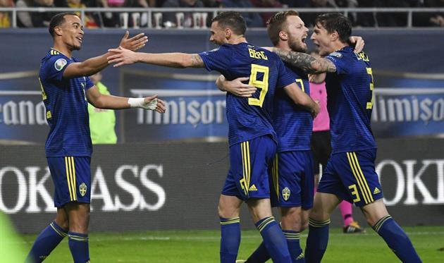 Сборная Швеции - участник Евро-2020, photo Sverige Football