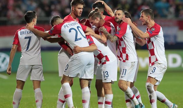 Сборная Хорватии, twitter.com/UEFAEURO