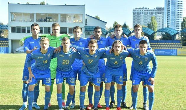 Украина U-17, фото УАФ