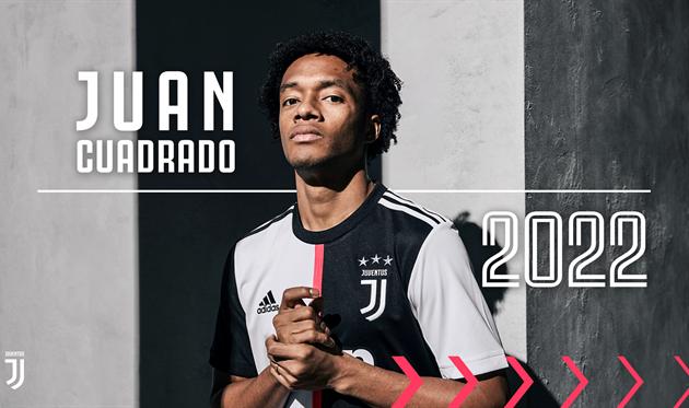 Куадрадо подписал новый контракт с Ювентусом