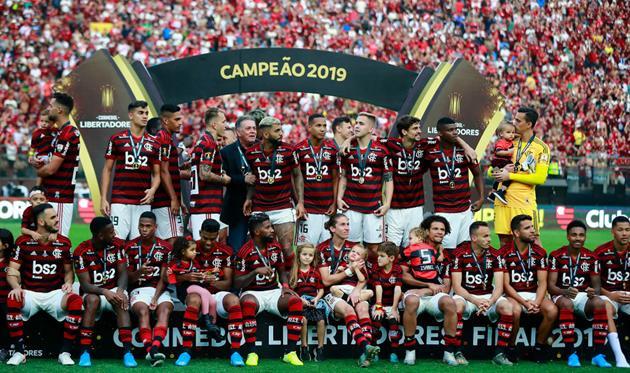 Фламенго - чемпион Южной Америки-2019, Getty Images