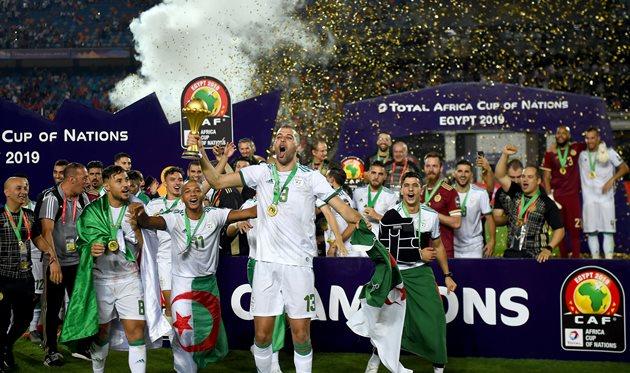 Сборная Алжира, Getty Images
