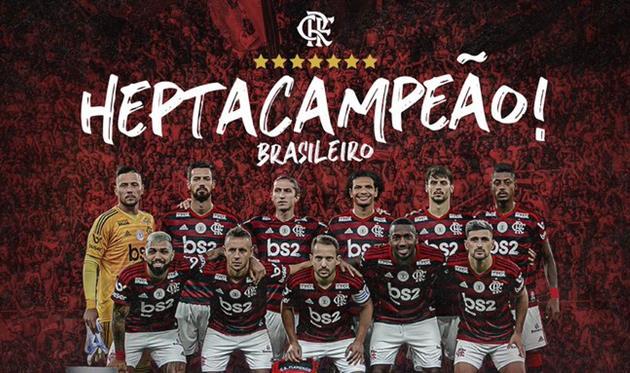 ФК Фламенго, фото: twitter.com/Flamengo
