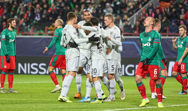 Локомотив - Байер, photo Bayer Leverkusen