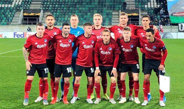Копенгаген обыграл Лугано и лидирует в группе с Динамо