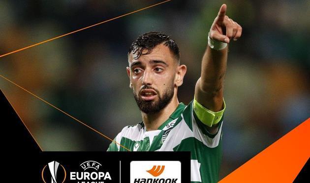 Фернандеш — игрок недели в Лиге Европы