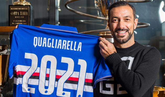 Фабио Квальярелла, U.C. Sampdoria