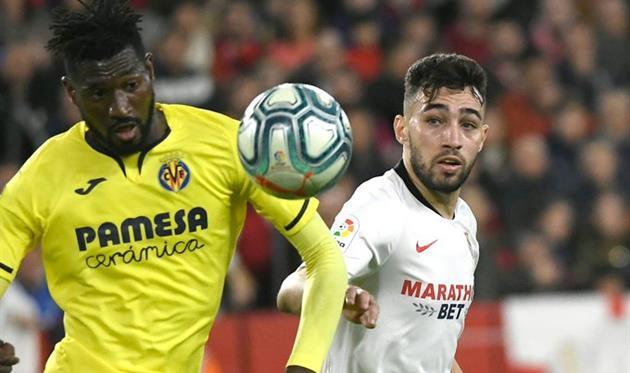 Севилья - Вильярреал, twitter.com/SevillaFC_ENG