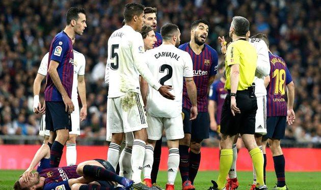 Барселона реал мадрид матчи онлайн