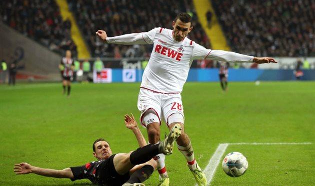 Футбол кельн айнтрахт франкфурт