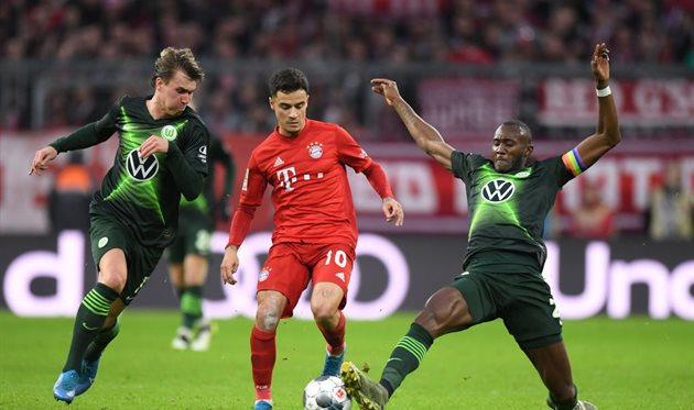 Футбол бавария вольфсбург видео обзор матча