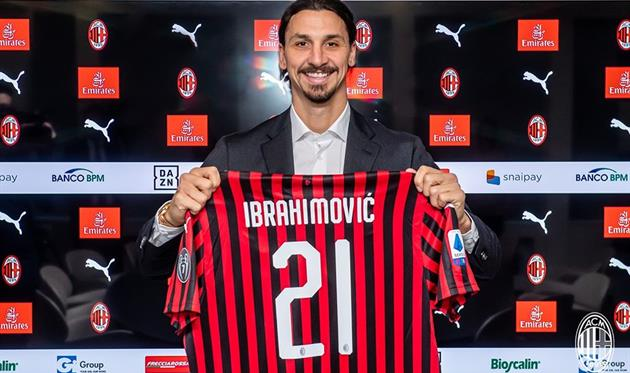 Златан Ибрагимович, ФК Милан