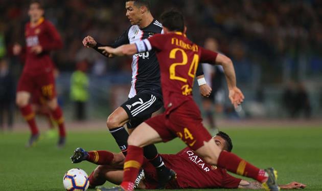 Ювентус- рома чемпионат италии по футболу