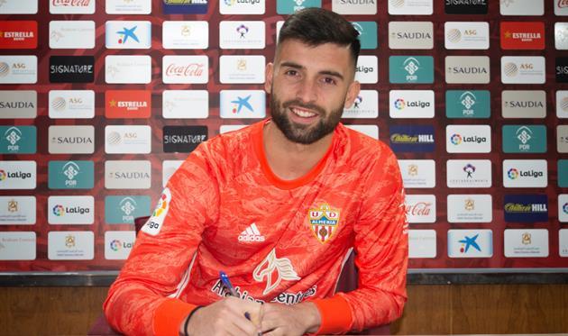 Антонио Сивера, UD Almería